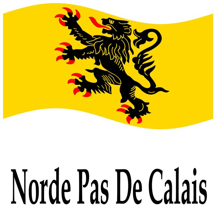 Norde Pas De Calais, France Flag - My Evil Twin