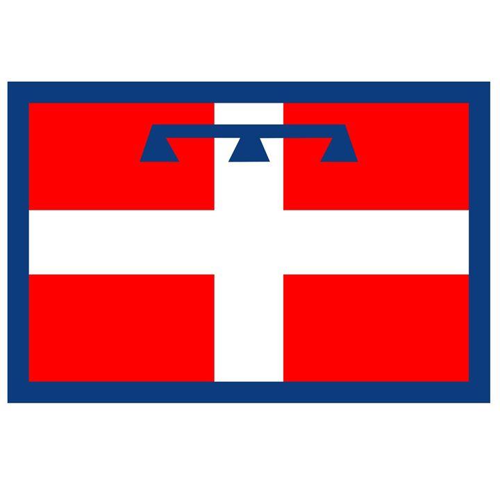 Piedmont, Italy Flag - My Evil Twin