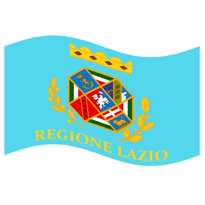 Lazio, Italy Flag And Name - My Evil Twin