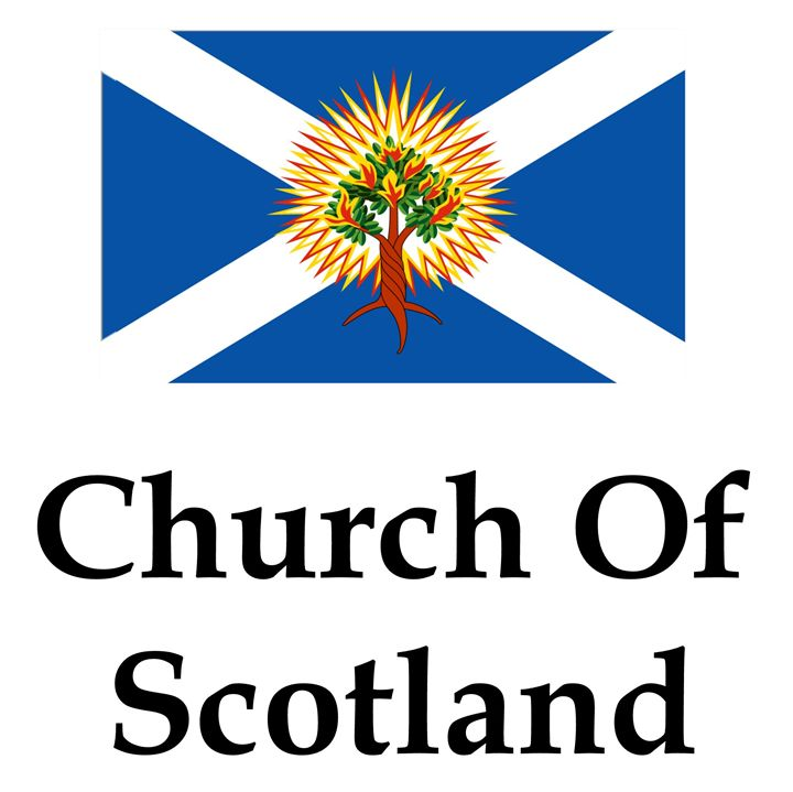 Church Of Scotland Flag And Name - My Evil Twin