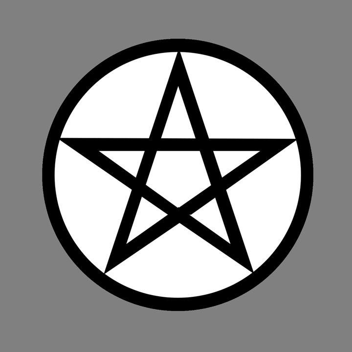 Wiccan Symbol - My Evil Twin