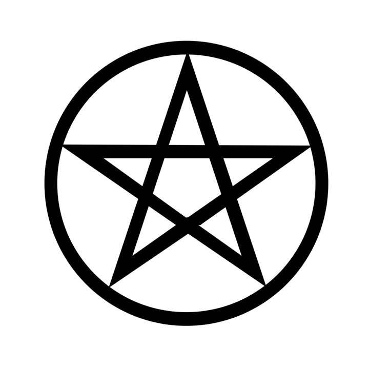 Wiccan Pentacle Symbol - My Evil Twin