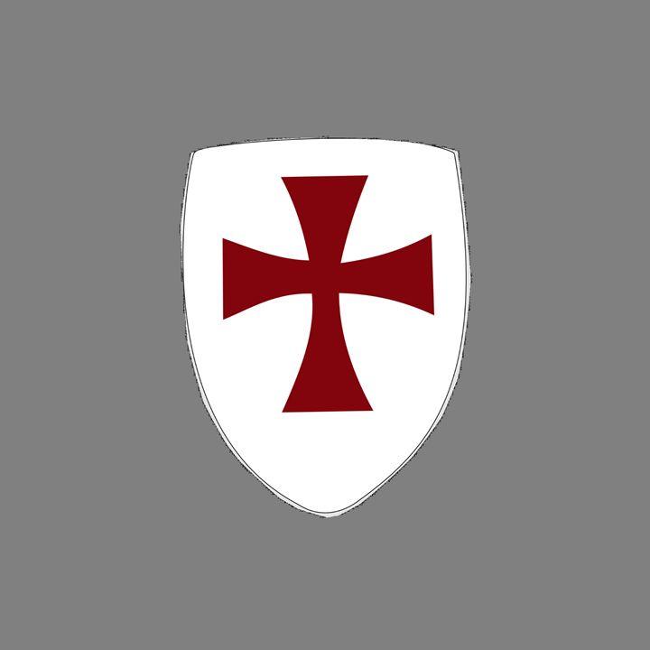 Knights Templar Shield - My Evil Twin