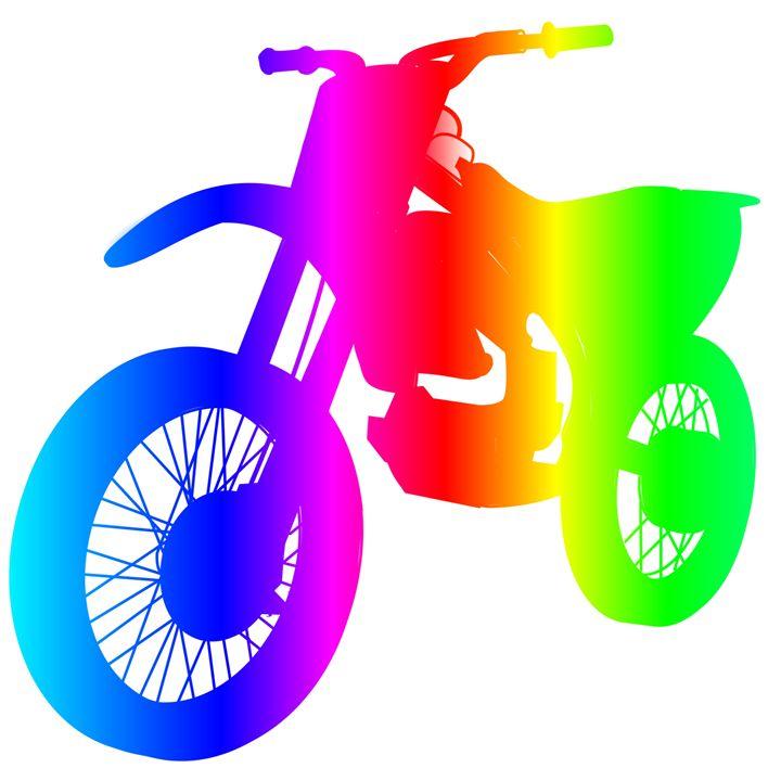 Rainbow Dirt Bike - My Evil Twin