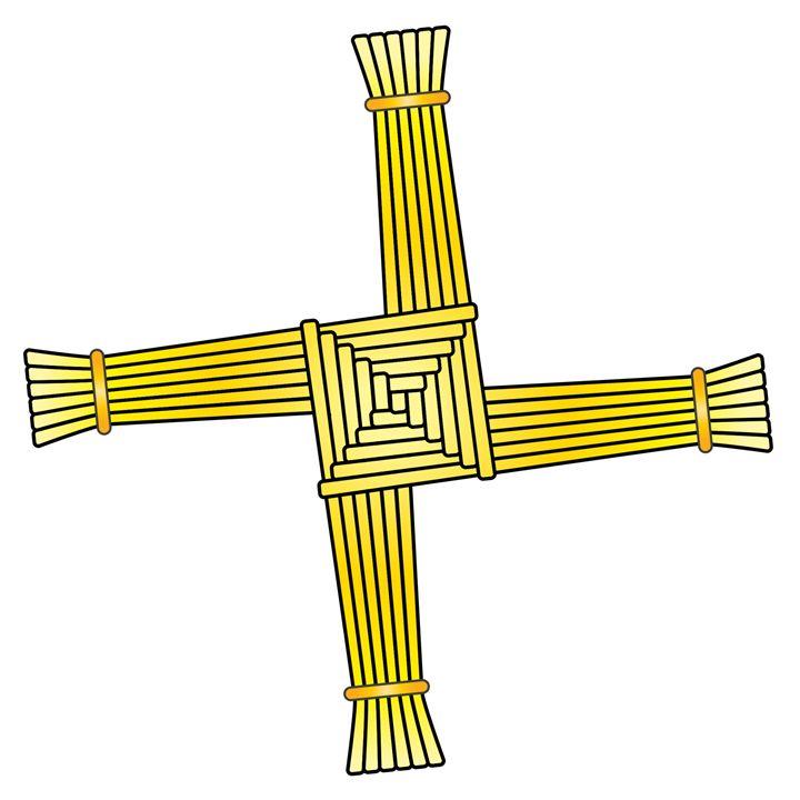 St. Brigid's Cross - My Evil Twin
