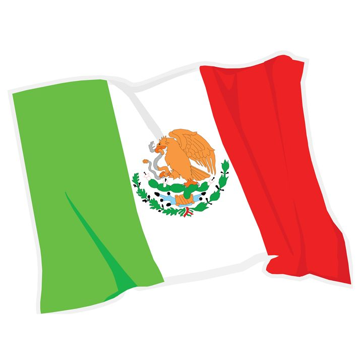 Mexico Flag - My Evil Twin