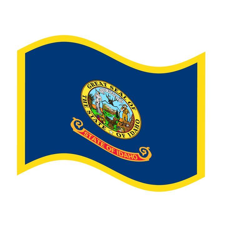 Idaho Flag - My Evil Twin