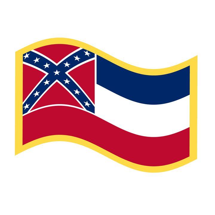 Mississippi Flag - My Evil Twin