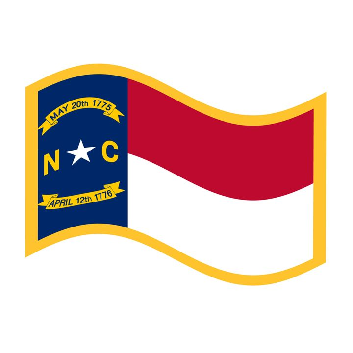 North Carolina Flag - My Evil Twin