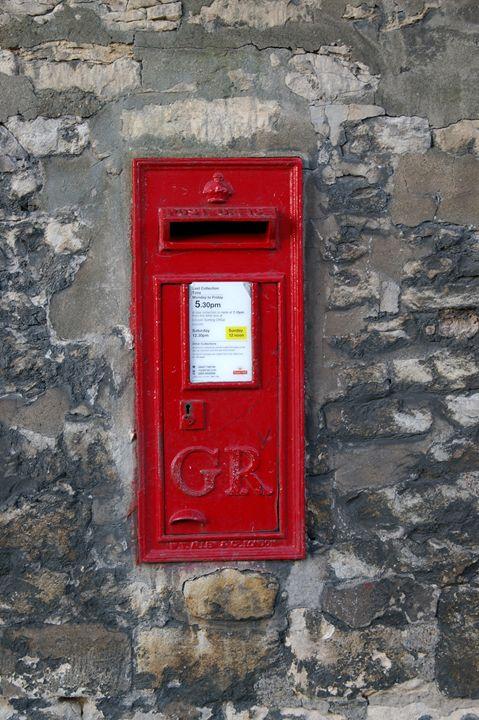uk post box - My Evil Twin