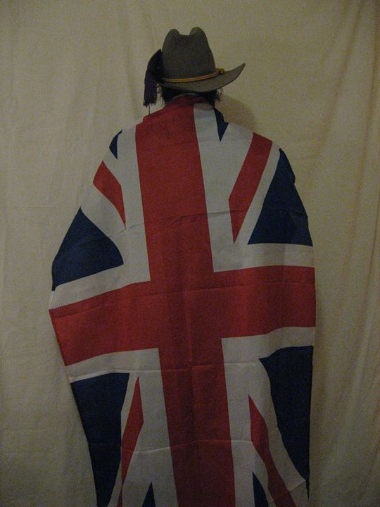 Wrapped In A Union Jack - My Evil Twin