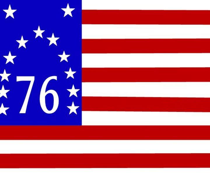 Bennington 76 Flag - My Evil Twin