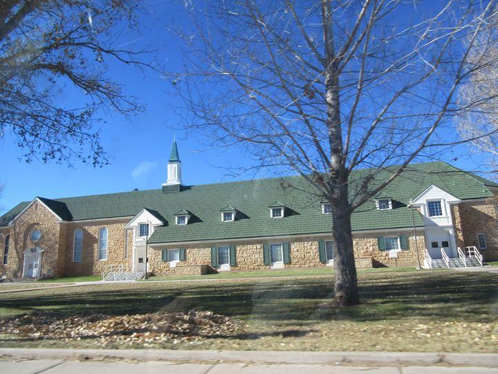 Snowflake Mormon Church - My Evil Twin