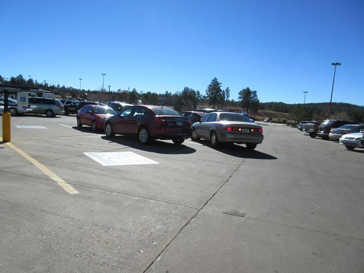 Show Low Parking Area - My Evil Twin