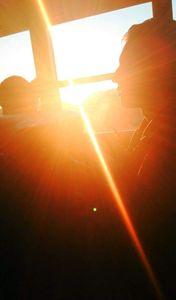 Bus Sunset