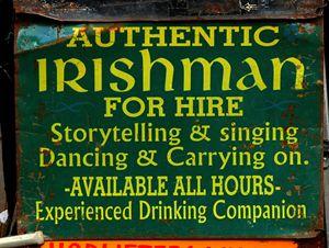 Irishman For Hire