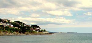 Irish Coastal village