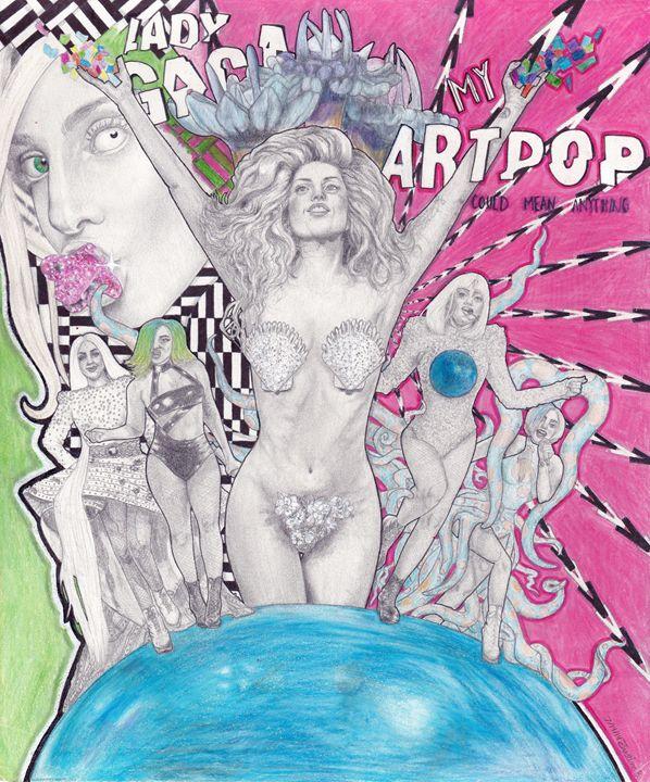 Lady Gaga's ARTRAVE - GagaPotterTribute