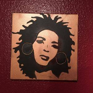 Lauryn Hill 12x12 rose gold