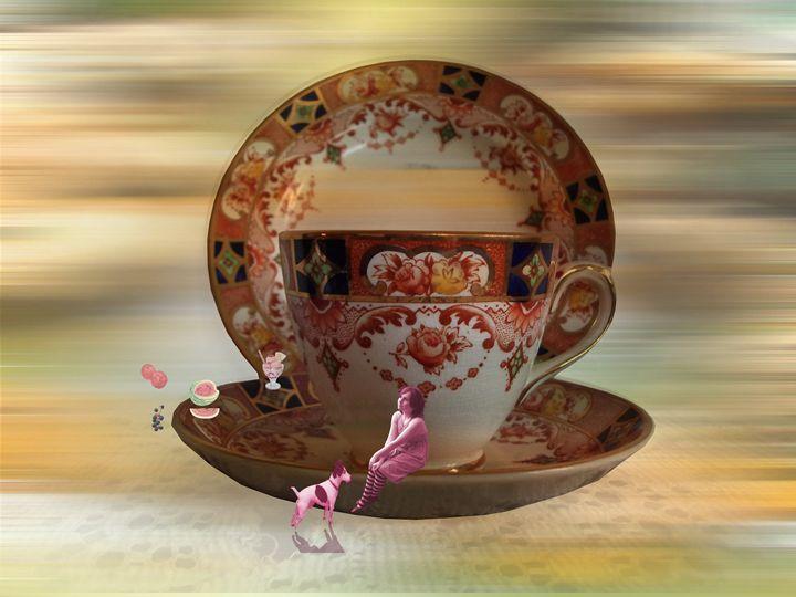 Teatime Dreams - Heathers Art