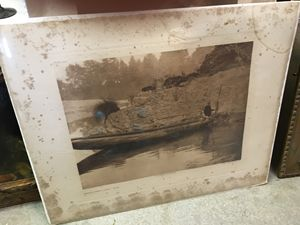 Fishing From Canoe plate 447