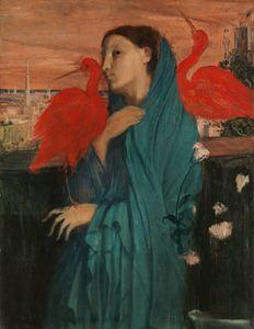 "Degas ""Woman with Ibis"" - Alexandra Luiza Dahl"
