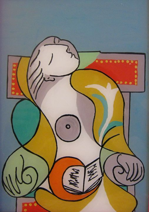 Design by Picasso on glass - Alexandra Luiza Dahl