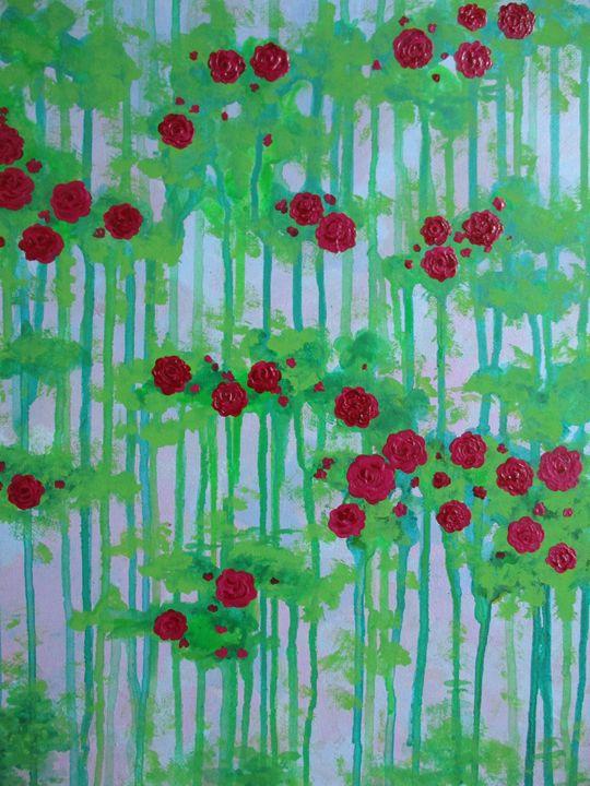 The garden of ruby roses - Alexandra Luiza Dahl