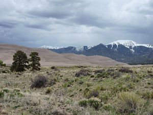 Storm in Great Sand Dunes NP