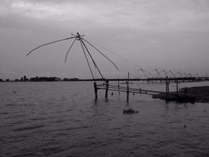 Vembanad Lake Fishing Nets