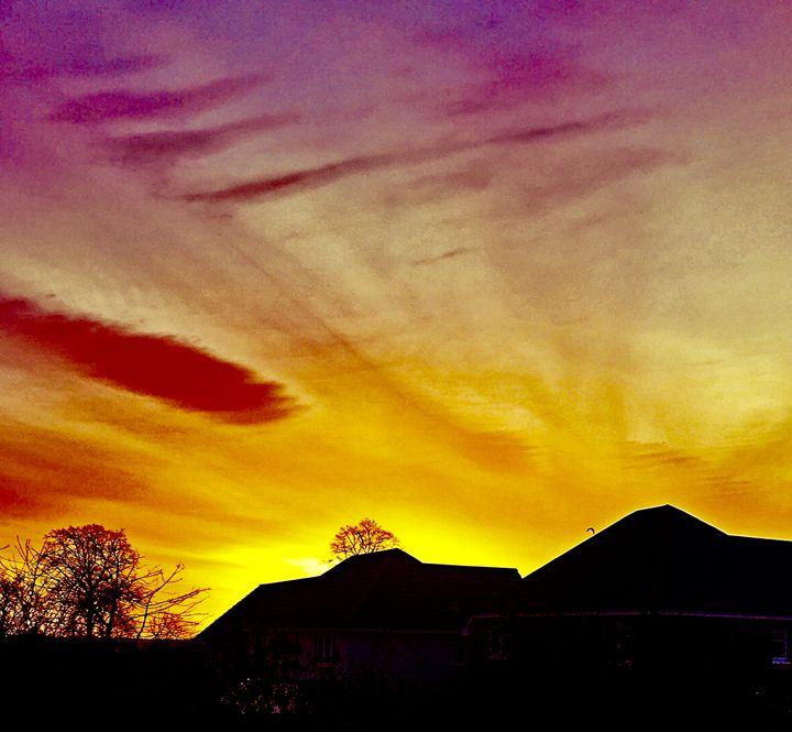 Morning sky - Karenlowedesigns