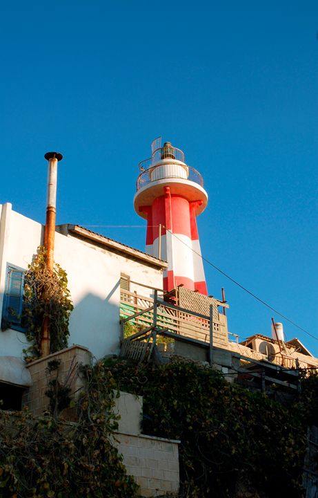Light house at the old Jaffa port, I - PhotoStock-Israel