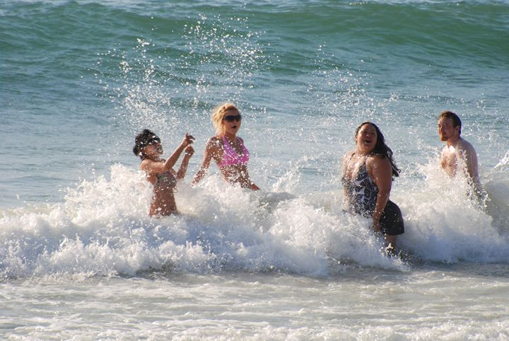 Summer fun, Mediterranean Sea - PhotoStock-Israel