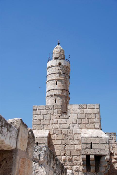 "Israel, Jerusalem, old city ""Tower o - PhotoStock-Israel"