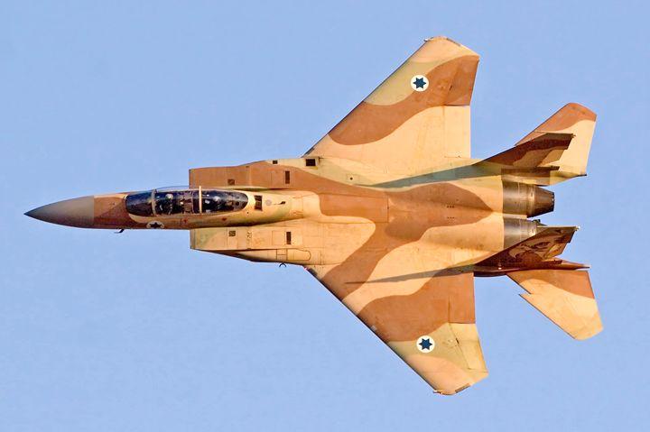 Israeli Air force Fighter jet F15I i - PhotoStock-Israel