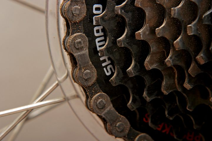 back cog wheel Close up bicycle part - PhotoStock-Israel