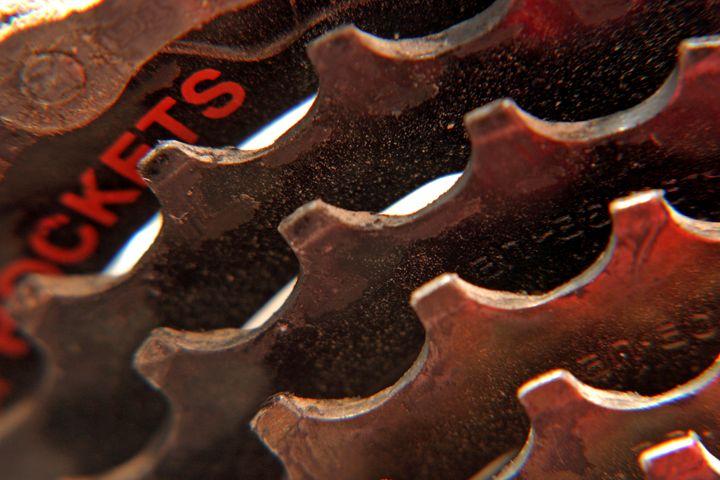 back cog wheel Close up bicycle part - PhotoStock-Israel