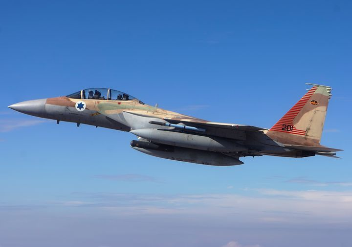 IAF Fighter jet F-15I in flight - PhotoStock-Israel