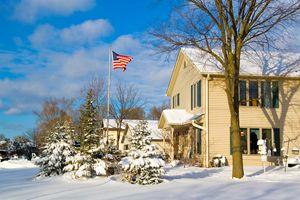 Snow in Milwaukee, Wisconsin USA - PhotoStock-Israel