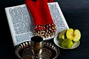 Prayer book, Apple Honey, goblet - PhotoStock-Israel