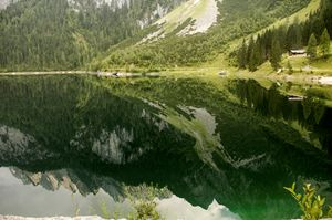 Lake Gosau in the Dachstein Mountain