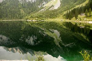 Lake Gosau in the Dachstein Mountain