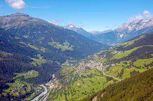 Austria, Tyrol, Kaunertal valley,
