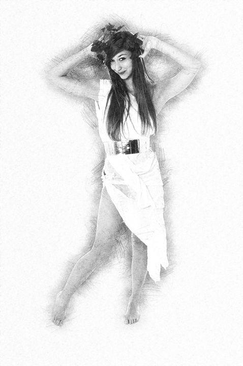 Greek Goddess - PhotoStock-Israel
