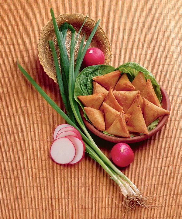 savoury pastels with spring onion - PhotoStock-Israel