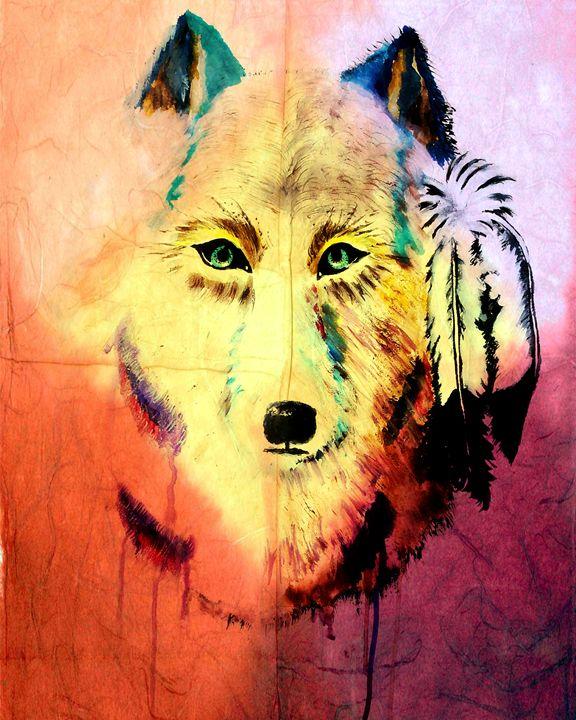Spirit of the Wolf 2 - Ayasha Loya Fine Arts