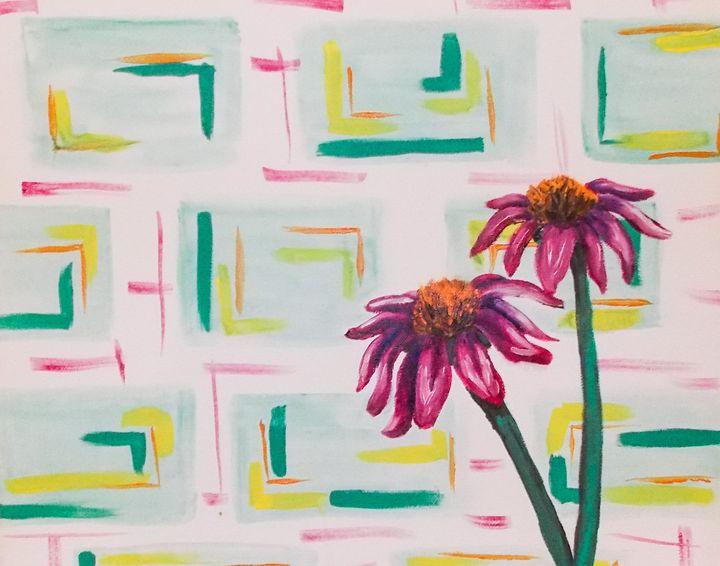 cone flowers - Katie Golabowski