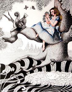 Alice in Wonderland Zentanlge