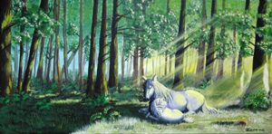 Mother in the Forest