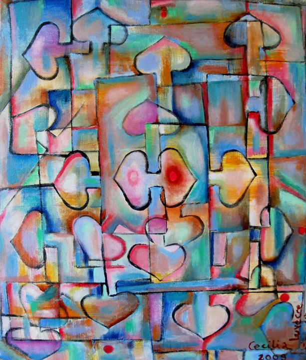 Everywhere/ Partout - HEART DREAMING PAINTINGS